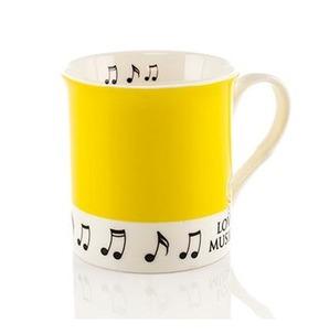 Colour Block Mug: Yellow