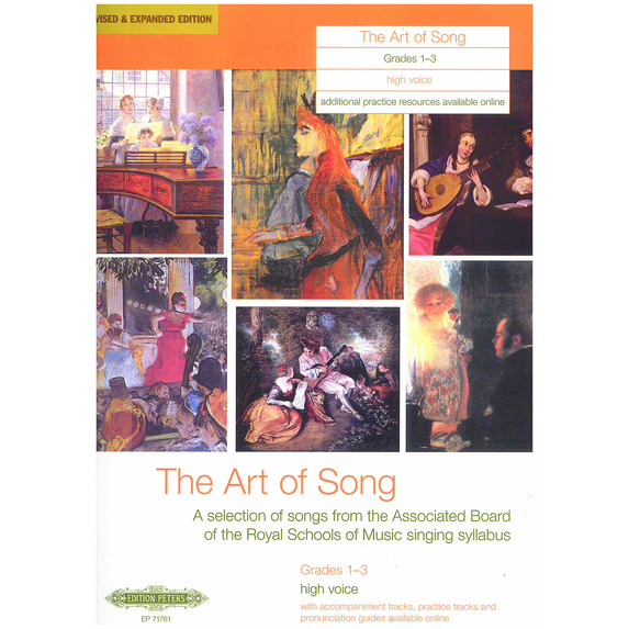 Sheet Music & Gifts > Art of Song Grades 1-3 - Various Vocal