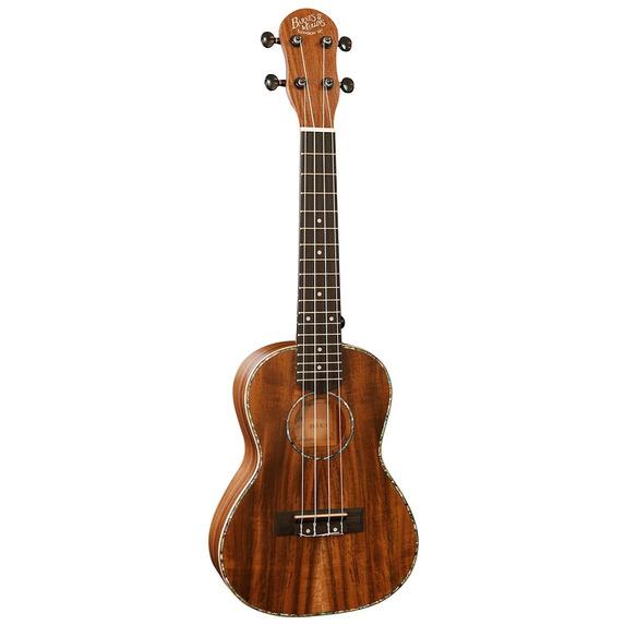 Folk Instruments > Barnes & Mullins BMUK7T Tenor Ukulele, Koa