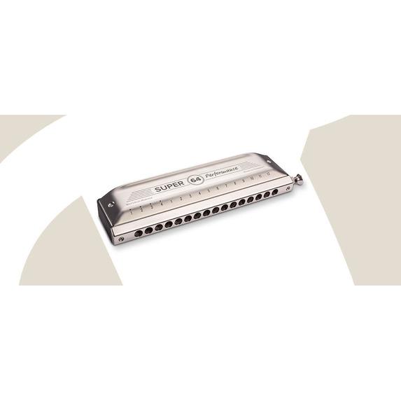 Hohner Super 64 Performance Series Chromatic Harmonica