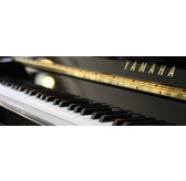 Yamaha B1 SG2 Upright Silent  Piano Black Polyester With Free UK Ground Floor Delivery