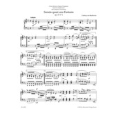 "Sonata quasi una Fantasia for Pianoforte E-flat major, C-sharp minor op. 27/1+2 ""Moonlight Sonata"" (Barenreiter)"