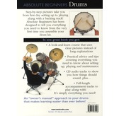 Absolute Beginners Drums Including Play-Along CD Featuring Professional Backing Tracks