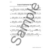 Trinity Guildhall: Snare Drum Pieces And Studies - Grades 6-8