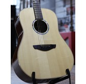 Faith FSHG Hi-Gloss Saturn Dreadnought Acoustic Guitar & Hard Case