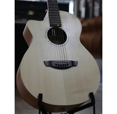 Faith FKVL Naked Venus Left-Handed Cutaway Electro Acoustic Guitar