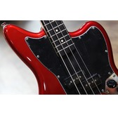 Fender Squier Vintage Modified Jaguar Bass Special SS, Candy Apple Red, Rosewood