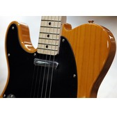 Fender Squier Affinity Series Telecaster Left-Handed, Butterscotch Blonde, Maple