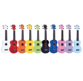 Mahalo Rainbow Series Ukulele with soft Cover - Various Colours