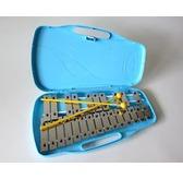 Angel 25 Note AX25K Glockenspiel with Case, Silver Keys