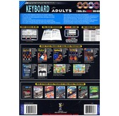 Progressive: Keyboard For Adults (Book/CD/2DVDs/DVD-ROM/Poster)