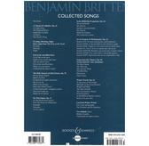 Benjamin Britten: Collected Songs [Paperback]