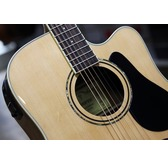 Alvarez RD26CE Regent Electro Acoustic Guitar & Deluxe Gig Bag, Natural