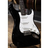 Fender Squier Bullet Strat With Tremolo, Black, Indian Laurel