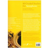 80 Graded Studies For Saxophone Book One
