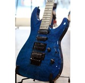 ESP LTD MH-103QM STB See-Thru Blue Guitar