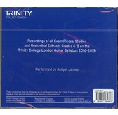 Trinity College London: Guitar CD - Grades 6-8 (2016-2019)