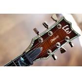 ESP LTD EC-1000FM ASB Amber Sunburst Guitar