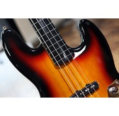 Fender Squier Vintage Modified Jazz Bass Fretless, 3-Colour Sunburst, Ebonol