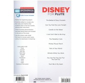 Flute Easy Instrumental Play-Along: Disney - audio access included