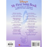 Disney's My First Songbook Volume 1