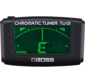 Boss TU-01 Clip on Tuner - Ideal for Guitar, Bass and Ukulele
