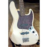 Fender Flea Jazz Bass, Road Worn Faded Shell Pink, Rosewood