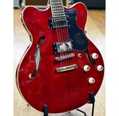 Hofner HCT Verythin Hollow Body Electric Guitar - Red