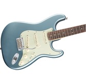 Fender Deluxe Roadhouse Strat, Mystic Ice Blue, Rosewood