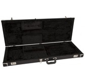 Fender Pro Series Strat/Tele Case - Black with Black Acrylic Interior
