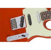Fender Deluxe Nashville Tele, Fiesta Red, Rosewood