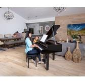 Roland GP607-PE Digital Grand Piano -  Including RP-30 Adjustable Piano Stool - 10 Year Warantee
