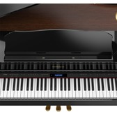 Roland GP607-PE Digital Grand Piano -  Including RP-30 Adjustable Piano Stool - 10 Year Warranty