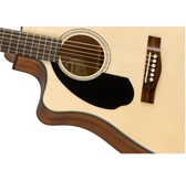 Fender CD-60SCE Left-Handed, Natural, Rosewood Electro Acoustic Guitar