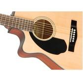 Fender CC-60SCE Left-Handed, Natural, Walnut Electro Acoustic Guitar
