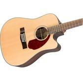 Fender CD-140SCE 12-String, Natural Rosewood Electro Acoustic Guitar & Hard Case