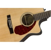 Fender CC-140SCE, Natural, Rosewood Electro Acoustic Guitar & Hard Case