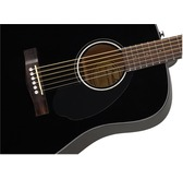 Fender CD-60S, Black, Rosewood Acoustic Guitar