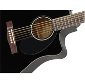 Fender CD-60SCE, Black, Rosewood Electro Acoustic Guitar