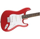 Fender Squier Bullet Stratocaster Hard Tail, Fiesta Red, Indian Laurel