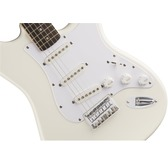 Fender Squier Bullet Stratocaster Hard Tail, Arctic White, Rosewood