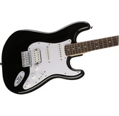Fender Squier Bullet Stratocaster Hard Tail HSS, Black, Indian Laurel