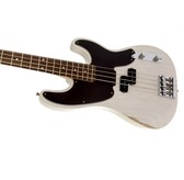 Fender Mike Dirnt Road Worn Precision Bass, White Blonde, Rosewood