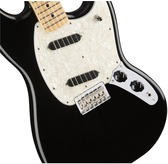 Fender Mustang, Black, Maple