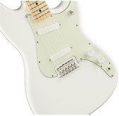 Fender Duo-Sonic, Arctic White, Maple