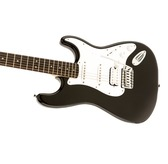 Fender Squier Bullet Strat With Tremolo HSS, Black, Indian Laurel