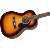 Fender CP-60S, 3-Colour Sunburst, Rosewood Acoustic Guitar