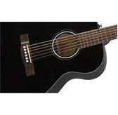 Fender CT-60S, Black, Rosewood Acoustic Travel Guitar