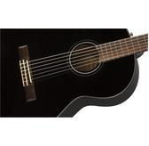 Fender CN-60S, Black, Rosewood Classical Nylon Guitar