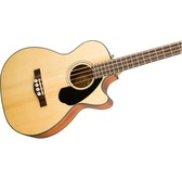 Fender CB-60SCE, Natural, Laurel Electro Acoustic Bass Guitar